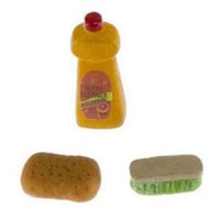Dollhouse Cleaning Set - Product Image