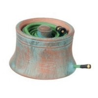 (* Closeout *) Dollhouse Hose Pot Copper Look - Product Image
