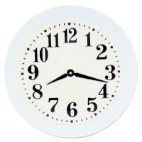 Sale - Metal Kitchen Wall Clock- Choice of Color - - Product Image