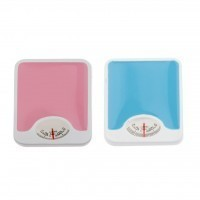 Blue or Pink Dollhouse Bath Scale - Product Image