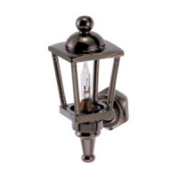 Dollhouse Carriage Lamp, Pewter - Product Image