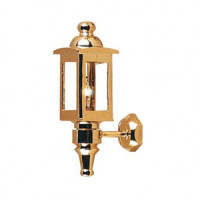 Dollhouse Brass Coach Lamp - Product Image
