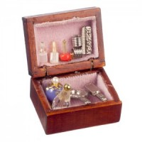 Dollhouse Dressing Table Box - Product Image