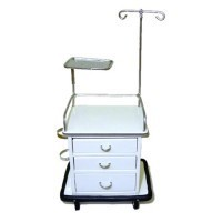 Dollhouse Utility Table, White - Product Image