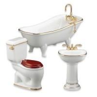Reutter Bathroom Set - Classic White - Product Image