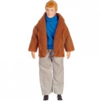 Vinyl DollHouse Doll - Blonde Dad in Blazer - Product Image