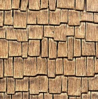 Dollhouse Pattern Sheet - Cedar Shake Shingle - Product Image