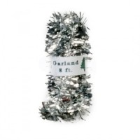 (*) Dollhouse Silver Christmas Garland - Product Image