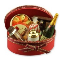 Dollhouse Champagne Gift Basket - Product Image