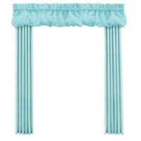 Dollhouse Dbl. Wide Drape w/ Balloon Valance - Product Image