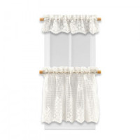 Dollhouse Ivory Lace Scallop Cafe - Product Image