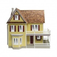 (**) Victoria's Farmhouse Dollhouse (Kit) - Product Image