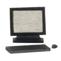 Dollhouse 3 to 4 pc Computer Set - Product Image