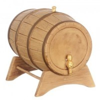 Dollhouse Large Wine Barrel - Product Image