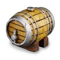 Dollhouse Rum Barrel - Product Image