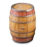 Dollhouse Wine Barrel - Product Image