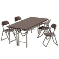 (**) Dollhouse Folding Table & Chairs - Product Image