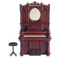 Dollhouse Organ with Stool by Bespaq - Product Image