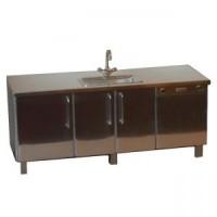 Dollhouse Commercial Sink & Dishwasher Unit - Product Image