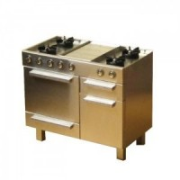 Dollhouse Commercial Stove - Small - Product Image