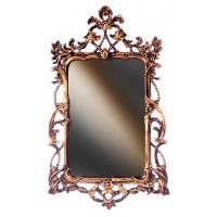 Beautiful Victorian Dollhouse Mirror(Choice of Finish) - Product Image
