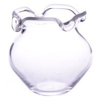 Dollhouse Scallop Edge Glass Fish Bowl - Large - Product Image