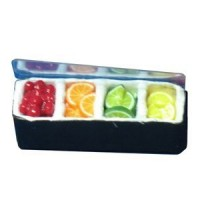 (*) Bar/Restaurant Counter Condiment Holder- Choice of Size & Style - - Product Image