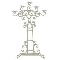 (*) Dollhouse Wedding Candle Holder - Product Image