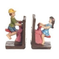 Assorted Children Bookends - Product Image