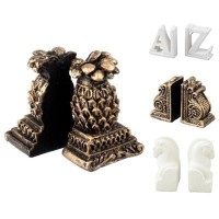 Assorted Resin Bookends - Product Image