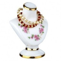 Dollhouse Jewelry Bust with Necklaces - Product Image