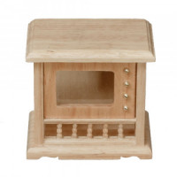 NEW! Dollhouse Console Television- Choice of Finish  - Product Image