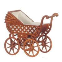 Bespaq Dollhouse Victorian Baby Carriage - Product Image