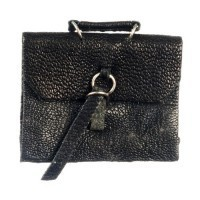 Dollhouse Leather Briefcase - Product Image