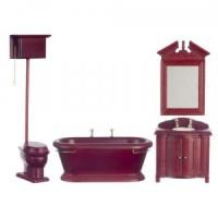 Dollhouse Old Fashioned Bathroom - Product Image