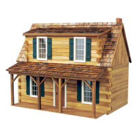 Adirondack Cabin Dollhouse (Kit) - Product Image