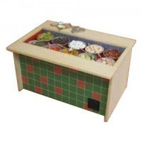 Dollhouse Salad Bar Unit - Large - Product Image