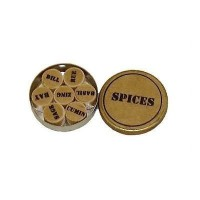 Dollhouse Herb / Spice Tins- Choice of Style - - Product Image