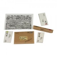 Dollhouse Mailing Tube, Package, And Letters - Product Image