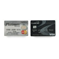 Miniature Dollhouse Credit Cards - Product Image