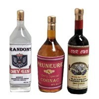 Dollhouse Liquor Set# 5 - Product Image