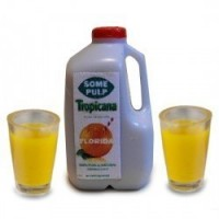 (*) Dollhouse Orange Juice Set - Gallon - Product Image