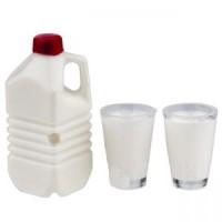 Dollhouse Milk Set - Half Gallon - Product Image