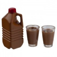 Dollhouse Chocolate Milk Set - Half Gallon - Product Image