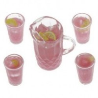 (*) Dollhouse Pink Lemonade Set - Product Image
