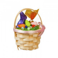 (**) Dollhouse Easter Basket - Product Image
