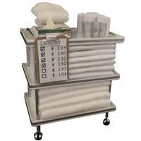 Dollhouse Patient Laundry Cart - Product Image