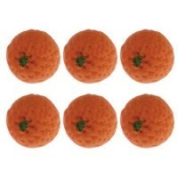 (**) Dollhouse 6 pc Oranges - Product Image