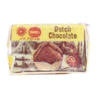 (*) Dollhouse Carton of Dutch Chocolate Ice Cream - Product Image