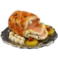 Dollhouse Ham With Vegetables - Product Image